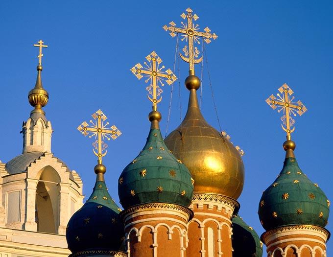 Russen tussen hemel & aarde